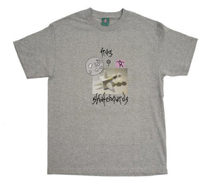 Frog Gift From The Moon T-Shirt (Athletic Grey)