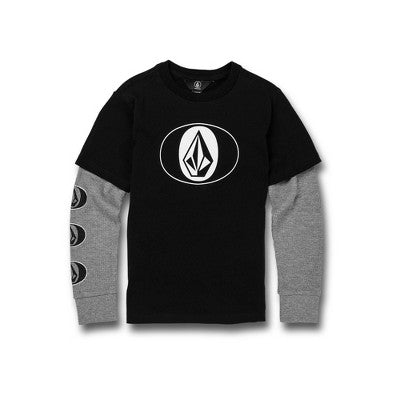 Volcom Stone STack Twofer Crew L/S (Youth)