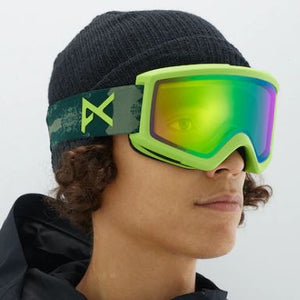 Anon Helix 2 Goggle (Deer Mountain & Sonar Green)