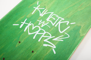 Hopps X Kinetic Del Negro Graffiti Deck (8.0)