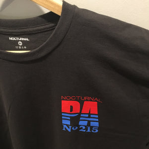 Nocturnal No.215 Tee Black/Blue/Red