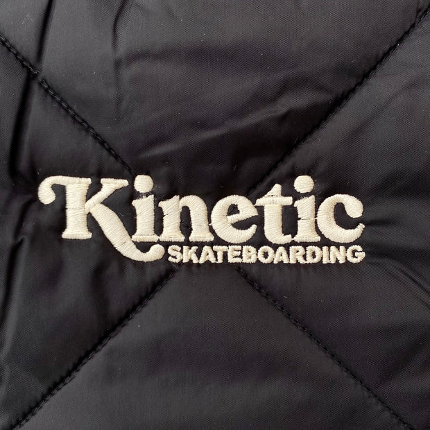 Kinetic x Dickies Quilted Vest (Black)