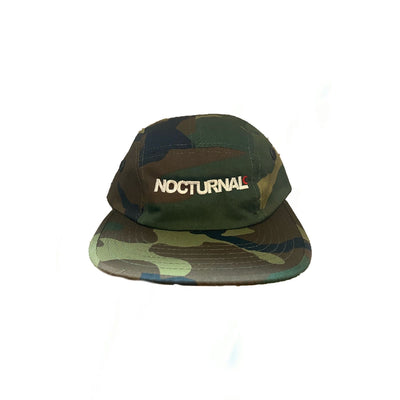 Nocturnal Logo 5 Panel Cap (Camo)