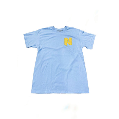 Nocturnal Chunky Tee (Powder Blue)
