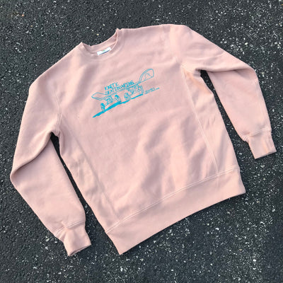 Kinetic Gonz Crewneck Sweatshirt (Dusty Pink)