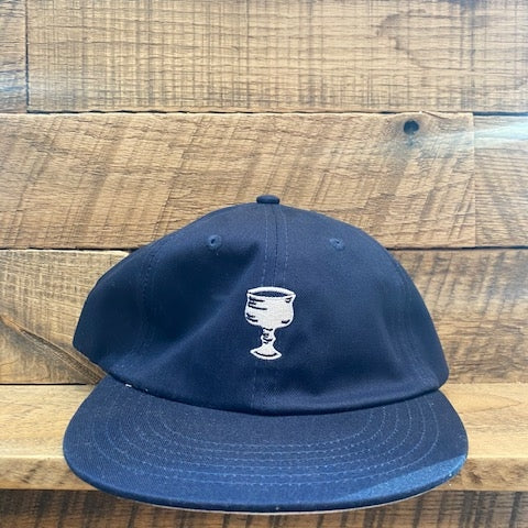Moka 6 Panel Cap (Navy)