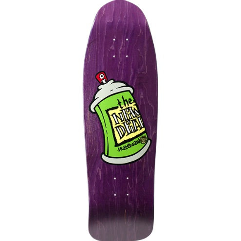 New Deal Screen Printed Spray Can  (Purple) 9.75