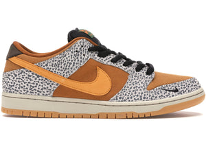 Nike SB Dunk Low Pro ISO Safari (Neutral Grey/Kumquat)