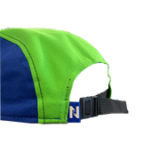 Nocturnal N Logo 5 Panel (Blue/Lime/Pink)