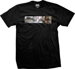 DGK Run, Skate, Chill Tee (Black)