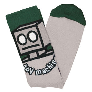 Toy Machine Robot Sock (Grey)