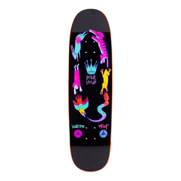 Welcome Miller Animal Kingdom on Catblood 2.0 Black/Orange Dip Deck (8.75)