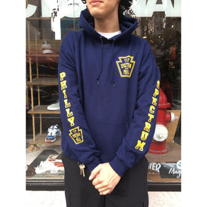 Spectrum Keystone Hoodie Navy / Yellow