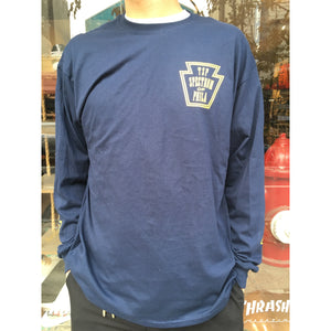 Spectrum Keystone Longsleeve Navy / Yellow