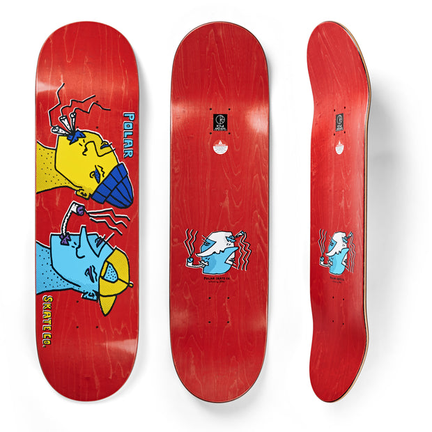 Polar Smoking Heads Deck