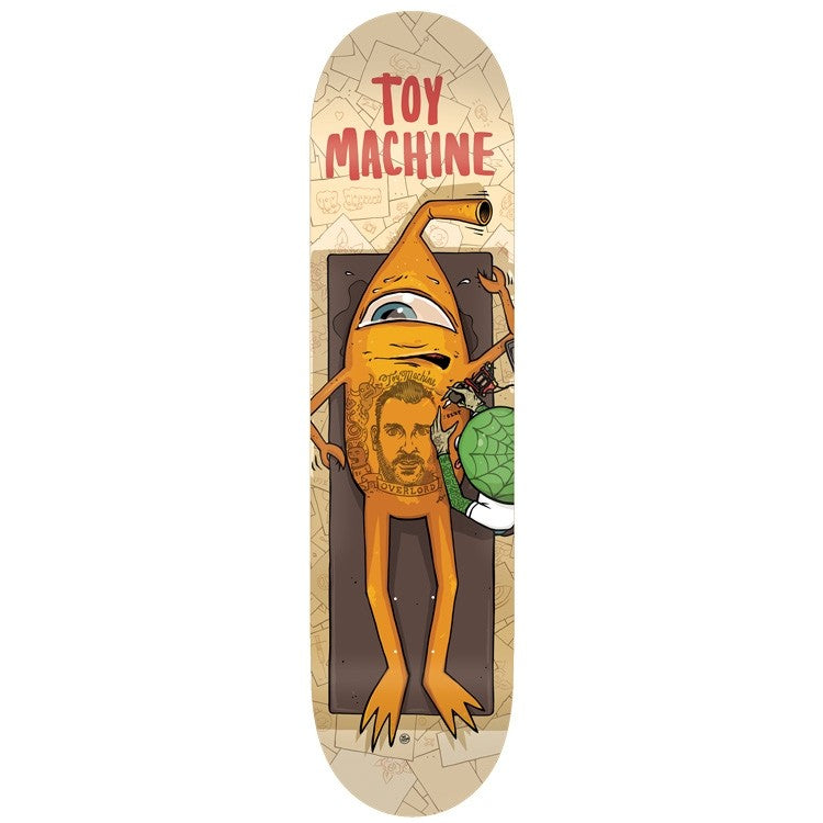 Toy Machine Templeton Overlord Deck (8.38)