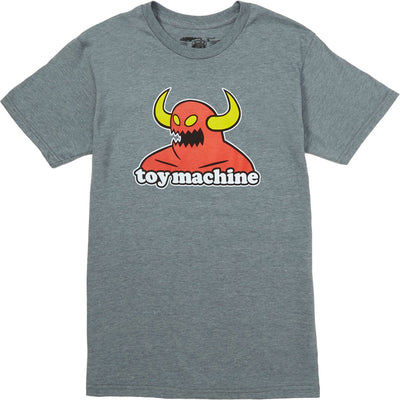 Toy Machine Monster T-Shirt (Heather Grey)