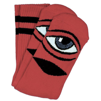 Toy Machine Sect Eye Crew Sock (Clay)