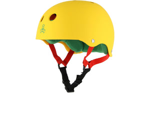 Triple 8 Brainsaver Helmet Yellow (L)