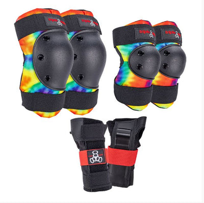 Triple 8 Saver Series Pad Set (Tie Dye)