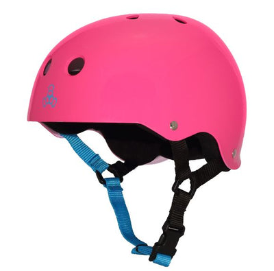 Triple 8 Sweatsaver Helmet (Fuschia)