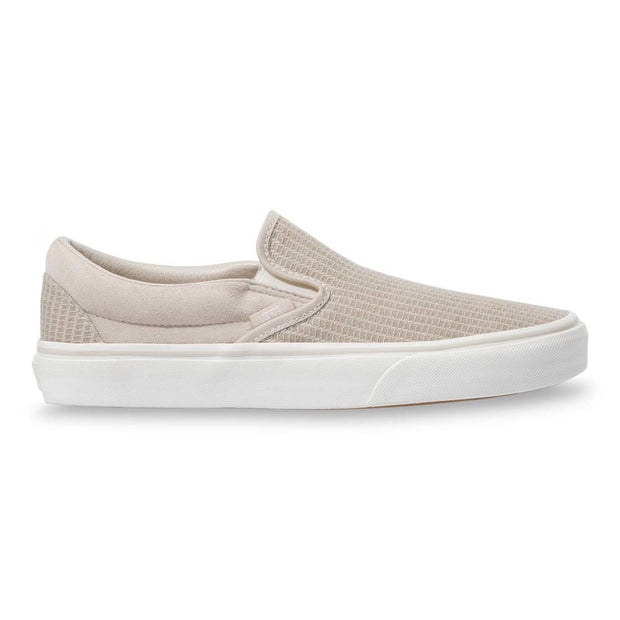 Vans Classic Slip On (Rainy Day/Snow White)
