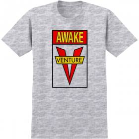 Venture S/S Awake T-Shirt (Ash/Red)