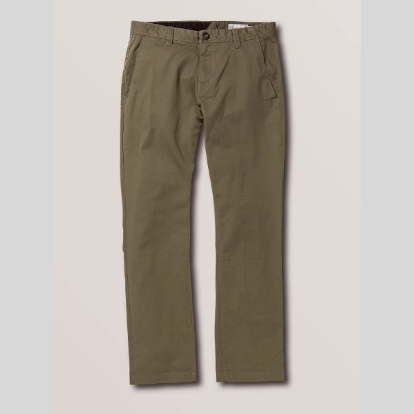 Volcom Frickin Modern Stretch Chinos (Army Green Combo)
