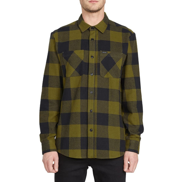 Volcom Shade Stone Long Sleeve (Sonic Green)