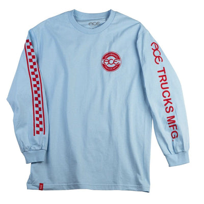 Ace New Jersey L/S Tee (Powder Blue)