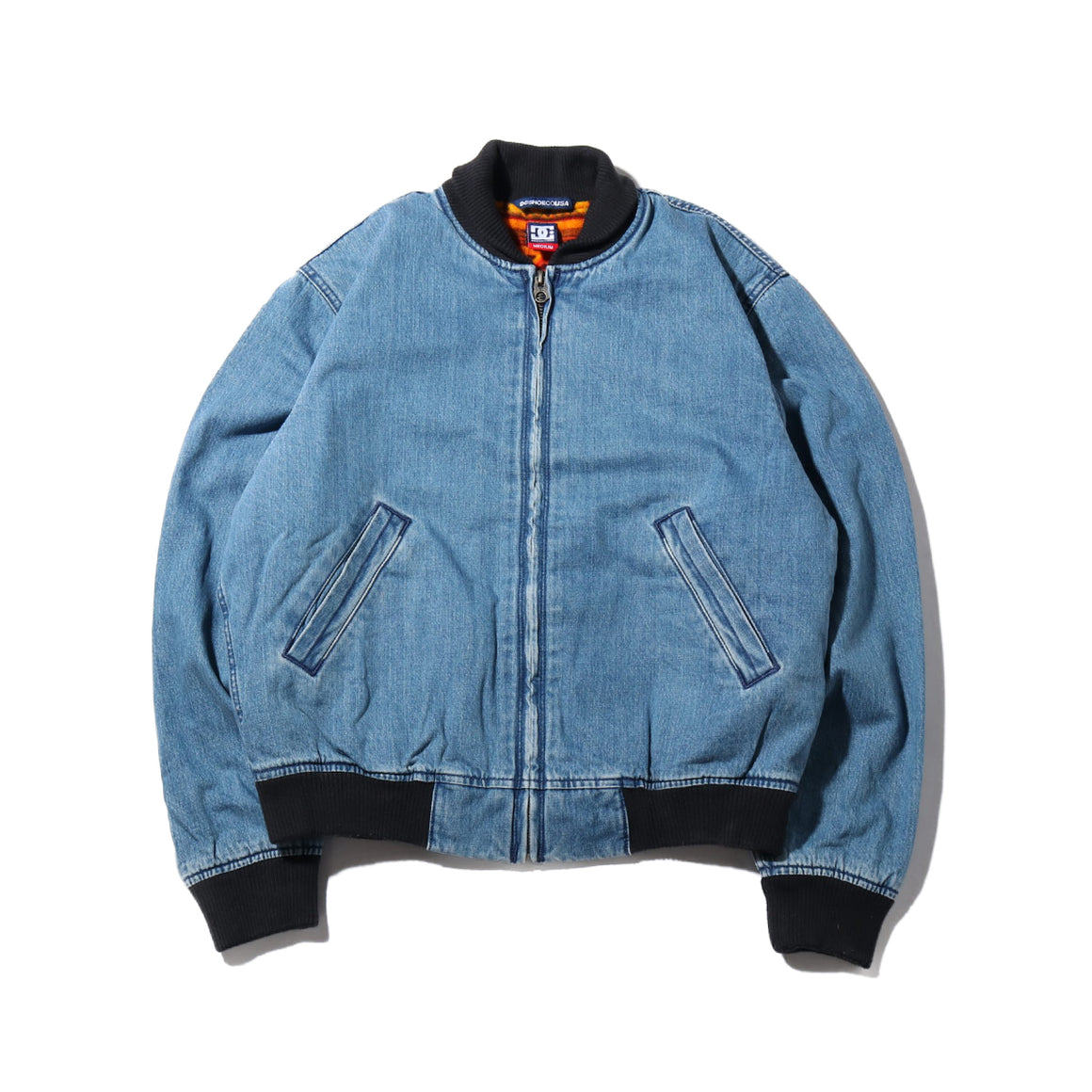 DC T Funk Denim Bomber Jacket