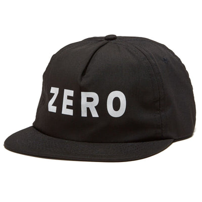Zero Army Unstructured Hat (Black)