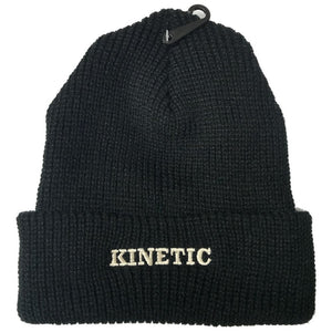 Kinetic EMB Beanie (Black)