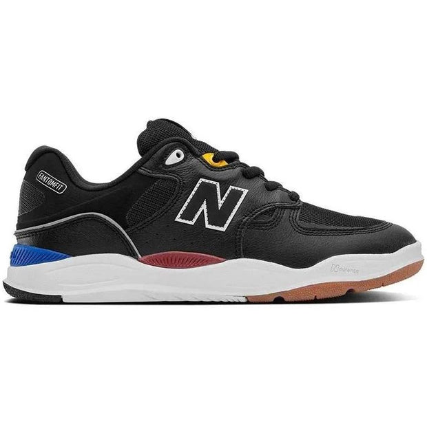 New Balance Numeric Tiago 1010 (Black Leather)