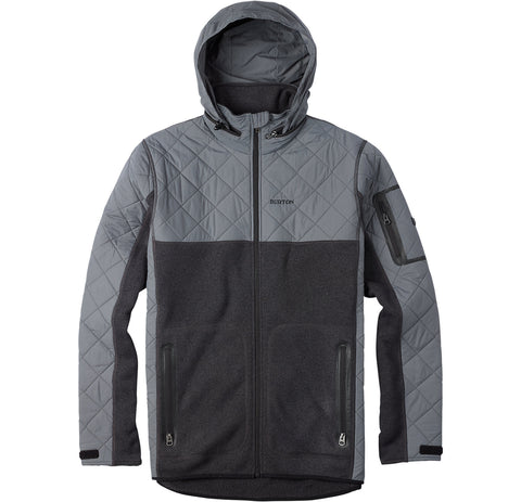 Burton Pierce Fleece (BlkHthr)