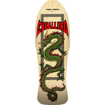 Powell Peralta Caballero Chinese Dragon Natural Deck