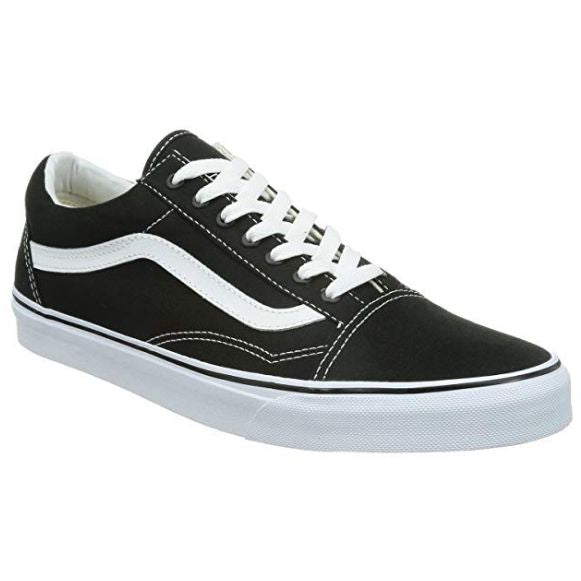 Vans Old Skool Canvas (Black/White) Vegan