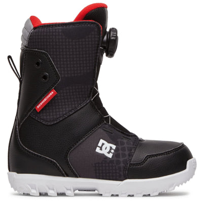 DC Youth Scout Snowboard Boot 2021 (Black)