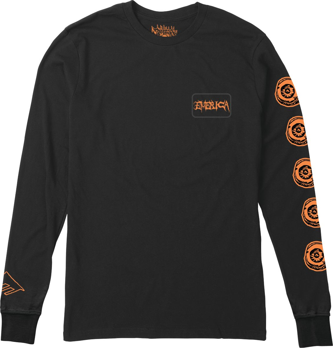 Emerica French Skulleyes L/S T-Shirt
