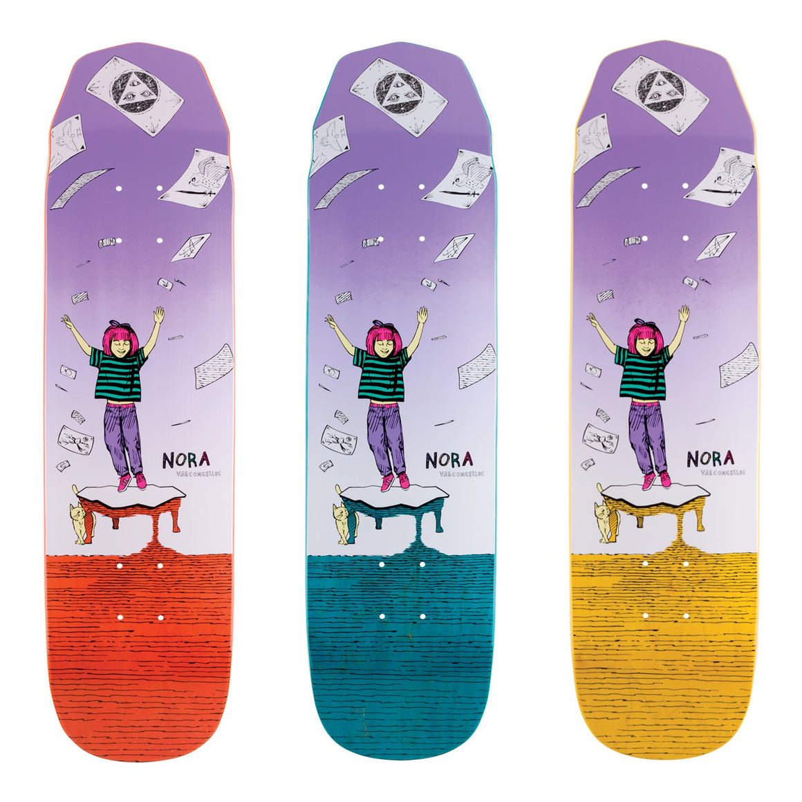 Welcome Magilda On Wicked Mini Deck 7.6 ""