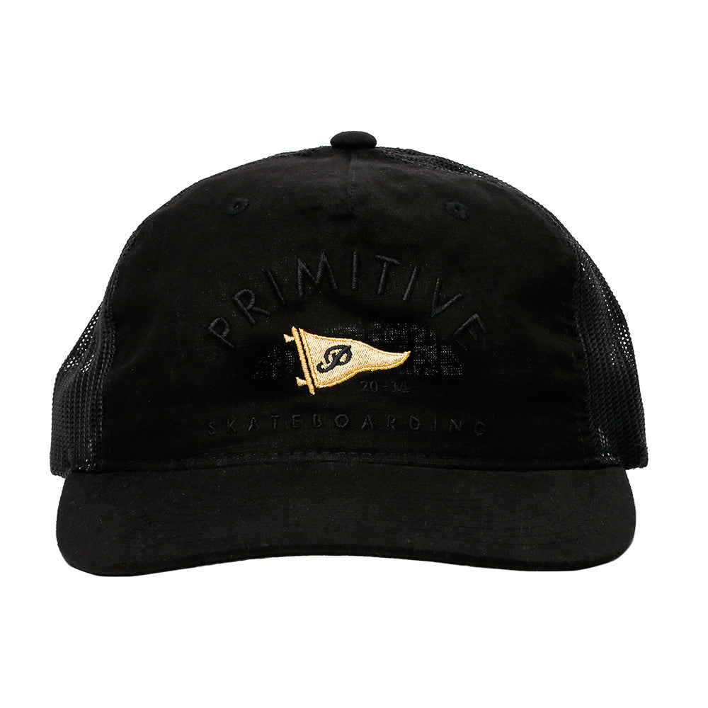 Primitive Penant Arch Trucker Hat (Black)  9b151e73296
