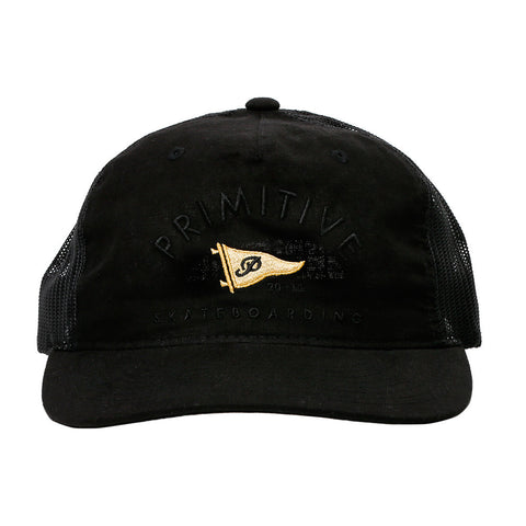 Primitive Penant Arch Trucker Hat (Black)