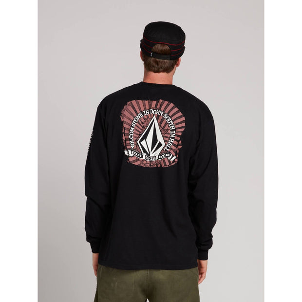 Volcom GTXX Down South Kinetic L/S Tee (Black)