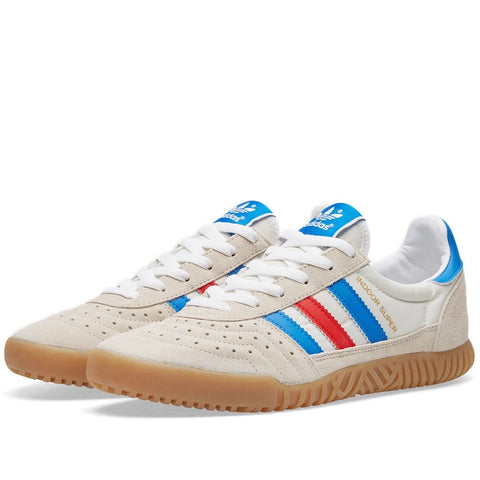 Adidas Busenitz Indoor Super (White/Blue Bird/Red)