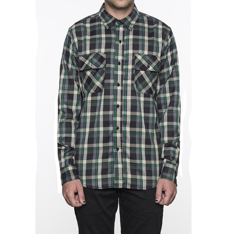 Huf Taylor Flannel Shirt (Green)