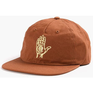 Theories Of Atlantis Hand of Theories Strapback Hat (Cinnamon/Gold)
