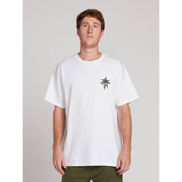 Volcom GTXX Down South BK Tee (White)