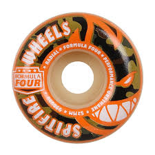 Spitfire F4 99D Covert Radial Wheels Nat (52MM)