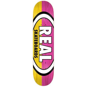 Real Two Tone Oval Mini Deck (7.3)