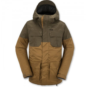 Volcom Alternate Insulated Snowboard Jacket (Caramel)